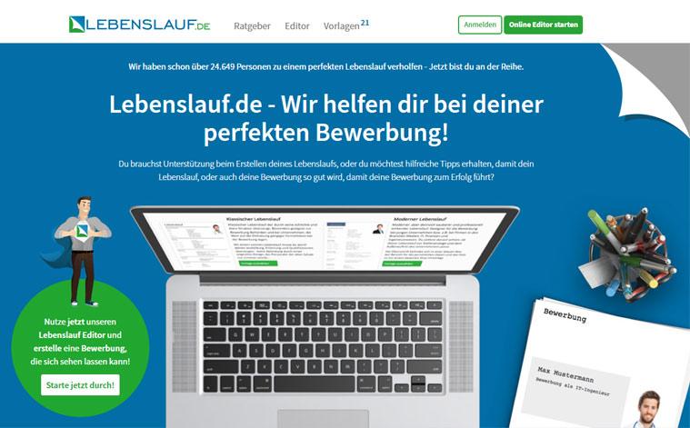 lebenslauf online erstellen - Lebenslauf Online