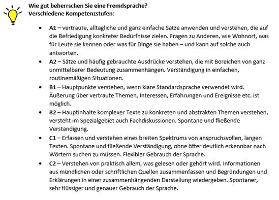 Kenntnisse & Fähigkeiten im Lebenslauf - Lebenslauf.de