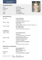 Lebenslauf Editor Online Erstellen Direkter Pdf Download